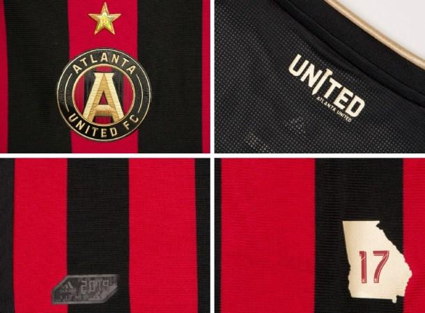 Atlanta United 2019 2020 adidas Home Soccer Jersey, Football Kit, Shirt, Camiseta de Futbol MLS