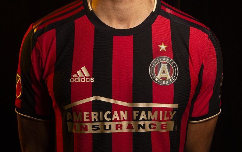 best service 23b3a 93b04 Atlanta United 2019 adidas Home Jersey - FOOTBALL FASHION.ORG