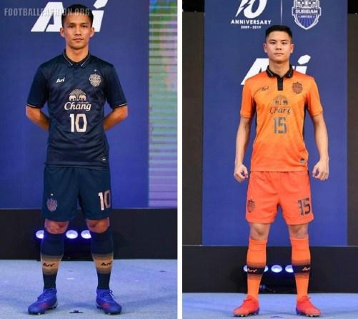 Buriram United 2019 AFC Asian Champions League Ari Home and Away Football Kits, Soccer Jersey, Shirt