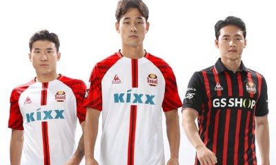 FC Seoul le coq sportif 2019 Away Football Kit, Soccer Jersey, Shirt