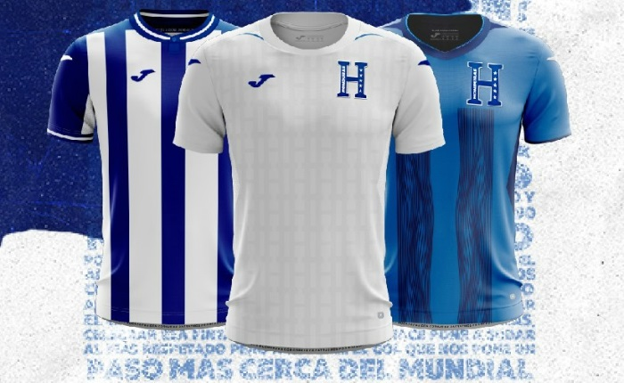 new arrival 92505 3910f Honduras 2019 Joma Kits - FOOTBALL FASHION.ORG