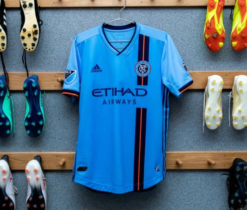 5eb12a10a Before he reaches the pitch, he crosses paths with other New Yorkers – a  firefighter and a pizza vendor – who are also real-life NYCFC fans, ...