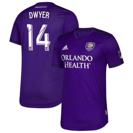 Orlando City SC 2019 adidas Home Soccer Jersey, Football Kit, Shirt, Camiseta de Futbol MLS