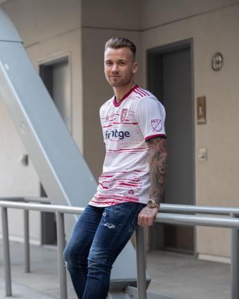 Real Salt Lake 2019 adidas Away Soccer Jersey, Football Kit, Shirt, Camiseta de Futbol