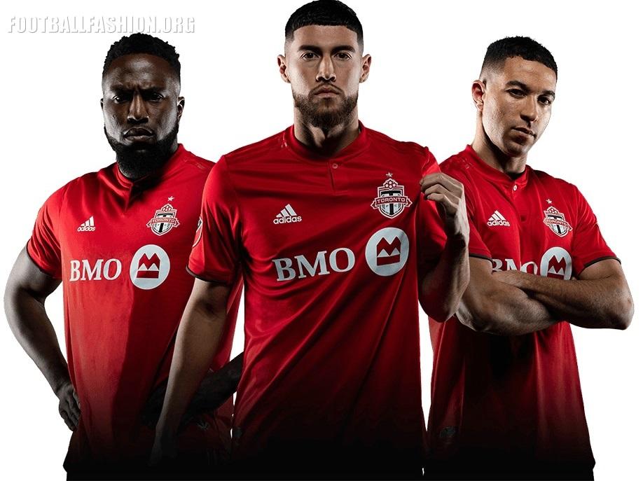 online retailer b44e2 b60c4 Toronto FC 2019 adidas Home Jersey - FOOTBALL FASHION.ORG