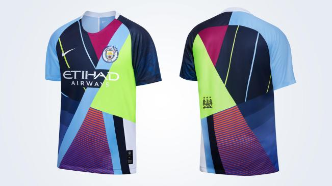 Manchester City x Nike 2019 Celebration Football Kit, Soccer Jersey, Shirt, Maillot, Trikot, Camiseta, Camisa