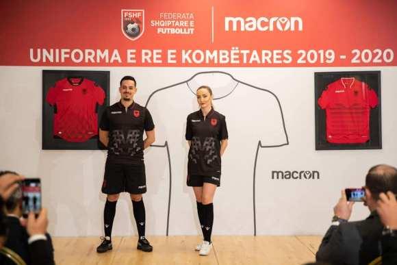 Albania 2019 2020 Macron Home, Away and Third Football Kit, Soccer Jersey, Shirt, Bluza, Uniforma