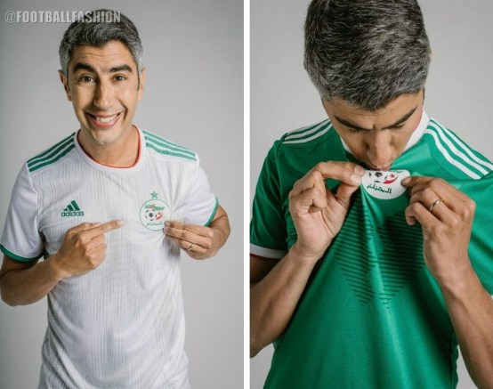 Algeria 2020 2019 Africa Cup of Nations adidas Football Kit, Soccer Jersey, Shirt, Maillot Algérie CAN