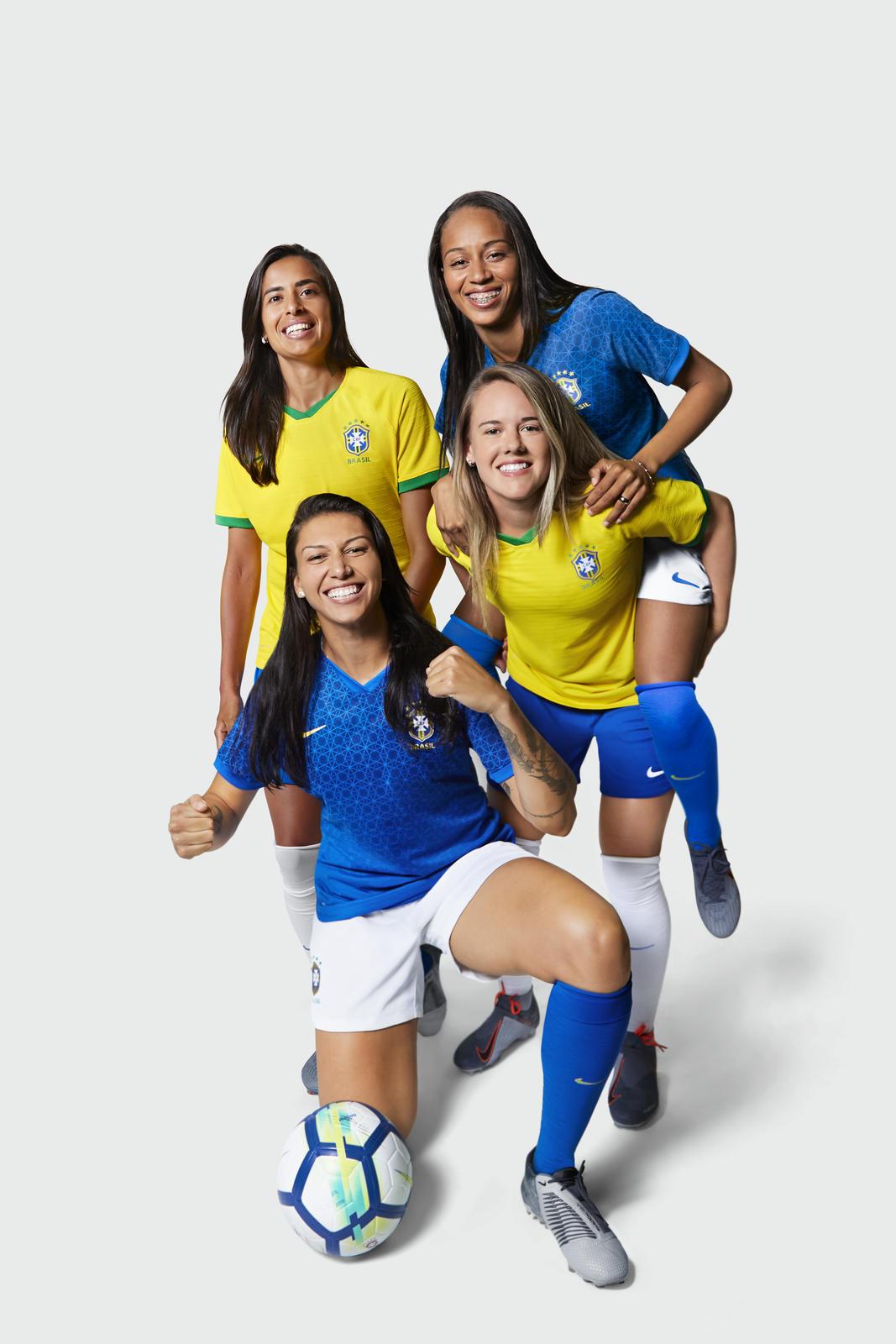 87f17c30f44 Brazil 2019 Women s World Cup Nike Kits - FOOTBALL FASHION.ORG