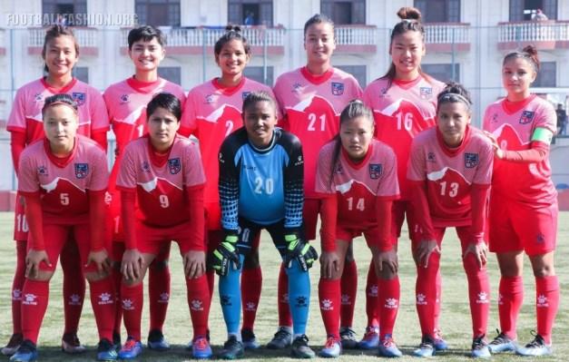 Nepal 2019 Kelme Home and Away Football Kit, Soccer Jersey, Shirt