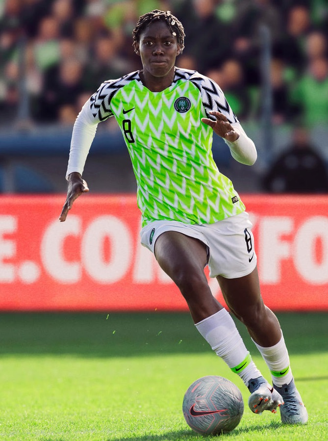 cheaper 13bec 508b2 Nigeria 2019 Women's World Cup Nike Kits - FOOTBALL FASHION.ORG