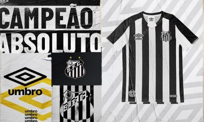 Santos FC 2019 Umbro Away Football Kit, Soccer Jersey, Shirt, Camisa, Camiseta