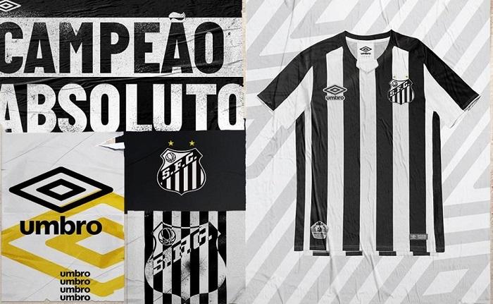 a569e852112 Santos FC 2019 Umbro Away Football Kit, Soccer Jersey, Shirt, Camisa,  Camiseta