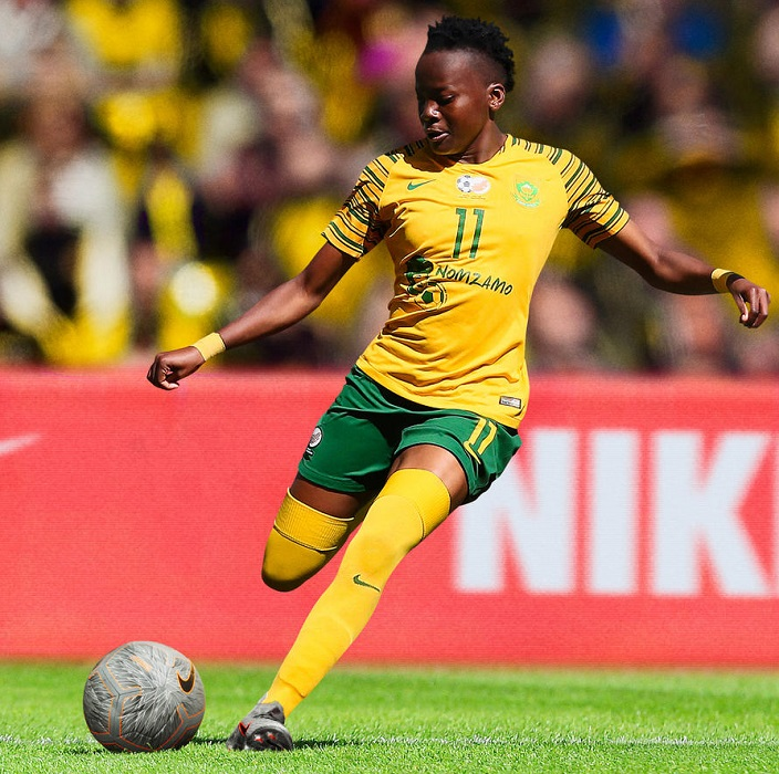66f9c2ee2 South Africa 2019 Women s World Cup Nike Kits - FOOTBALL FASHION.ORG