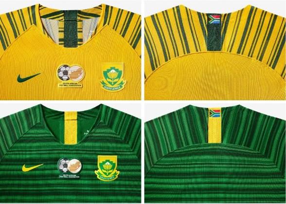 South Africa 2019 Women's World Cup Nike Football Kit, Soccer Jersey, Shirt