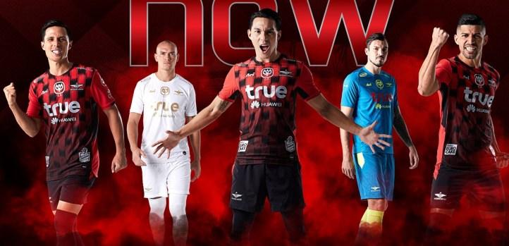 Bangkok United FC 2019 Ari Football Kit, Soccer Jersey, Shirt