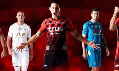 Bangkok United FC 2019 Ari Football Kit, Soccer Jersey, Shirt