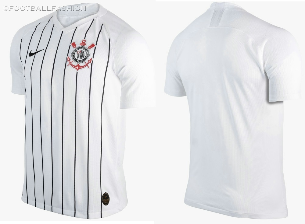 wholesale dealer 5ff57 04cde Corinthians 2019/20 Nike Home Kit - FOOTBALL FASHION.ORG