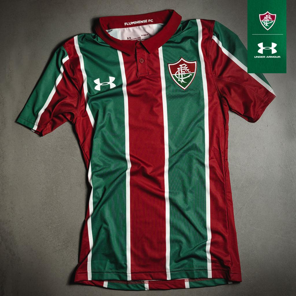 Fluminense 2019 20 Under Armour Home Kit Football Fashion Org