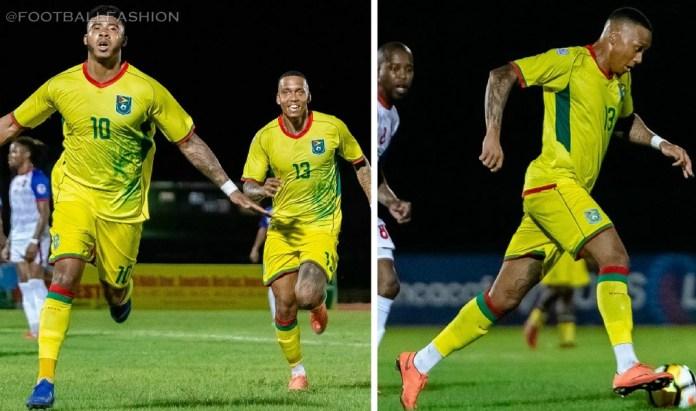 Guyana 2019 Home Football Kit, Soccer Jersey, Shirt