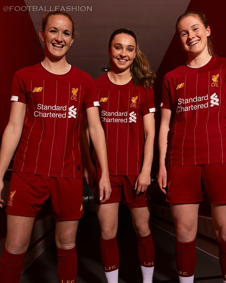 on sale d548d 6e61e Liverpool FC 2019/20 New Balance Home Kit - FOOTBALL FASHION.ORG