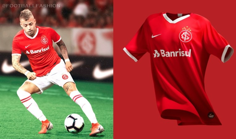 SC Internacional 2019/20 Nike Football Kit, Soccer Jersey, Shirt, Camisa