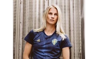 Sweden 2019 Women's World Cup adidas Away Football Kit, Soccer Jersey, Shirt, Matchtröja
