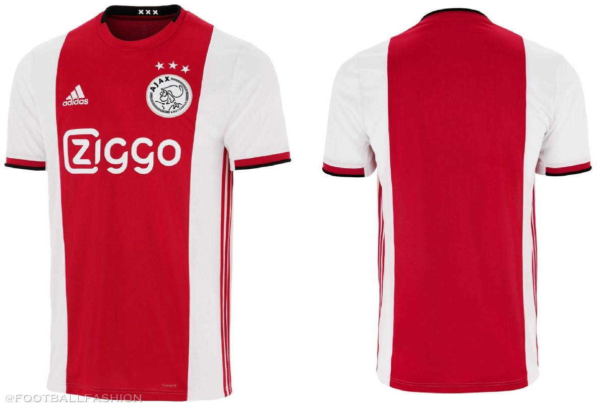 62dd598c63c AFC Ajax 2019 2020 adidas Home Football Shirt, Kit, Soccer Jersey,  Thuisshirt,