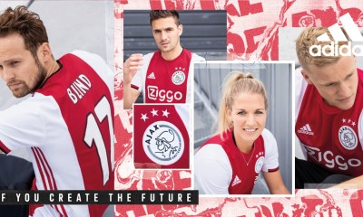 AFC Ajax 2019 2020 adidas Home Football Shirt, Kit, Soccer Jersey, Thuisshirt, Thuistenue