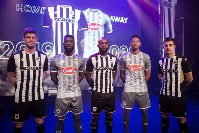 Angers SCO 2019 2020 Kappa Home and Away Football Kit, Soccer Jersey, Shirt, Maillot