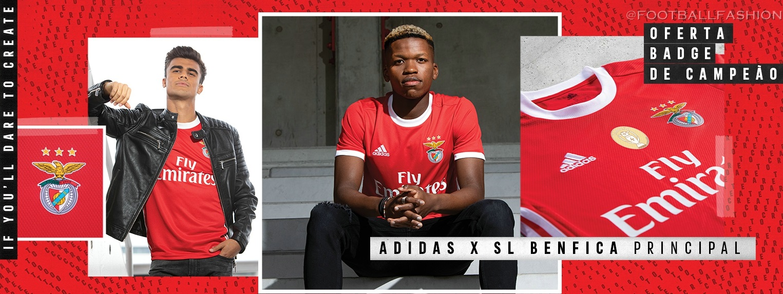 Benfica 2019/20 adidas Home and Away Kits - FOOTBALL FASHION