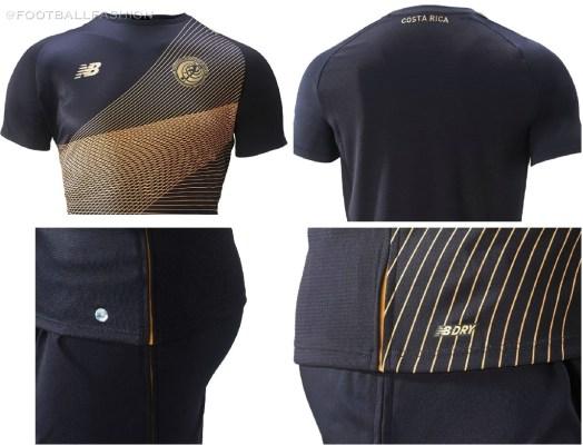 Costa Rica 2019 New Balance Third Soccer Jersey, Football Kit, Shirt, Camiseta Tercera Copa Oro, Gold Cup