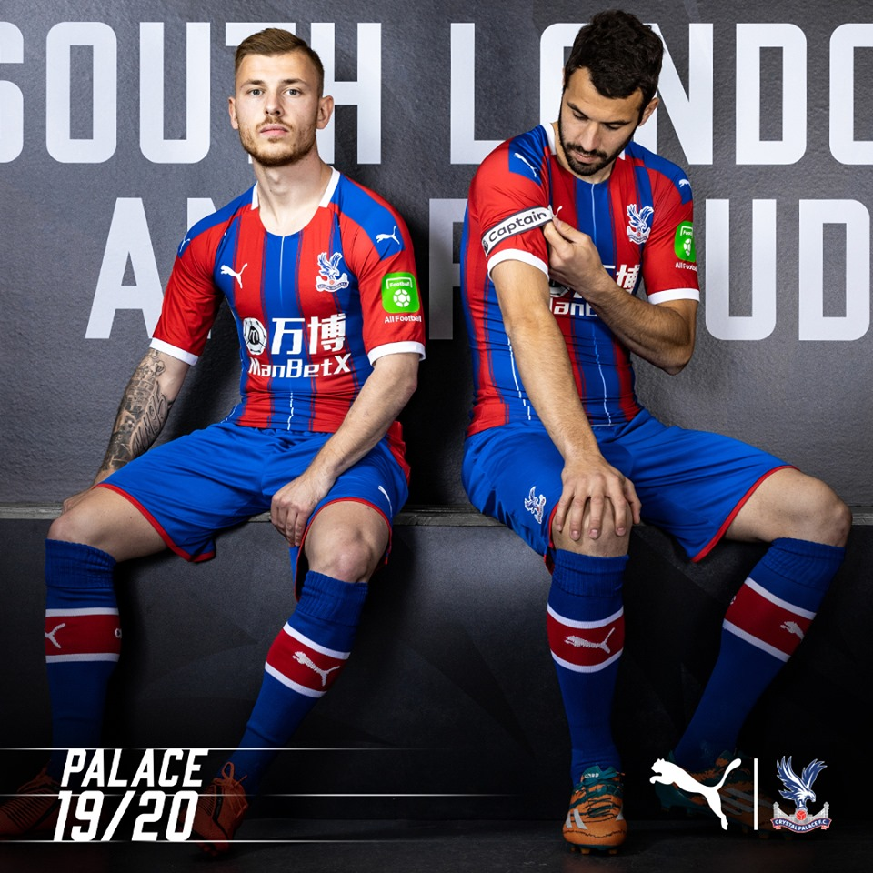69b404cbe Crystal Palace 2019 2020 PUMA Home and Away Football Kit, Soccer Jersey,  Shirt,
