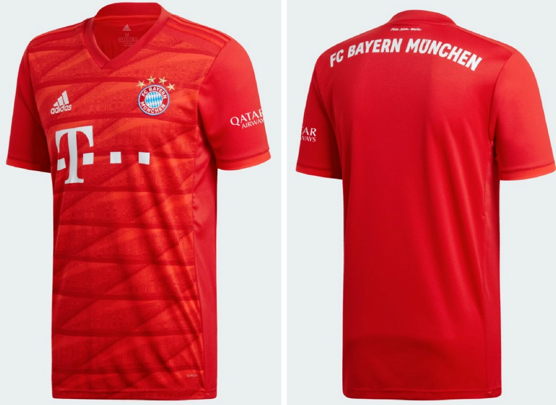new style b8038 e063f Bayern München 2019/20 adidas Home Kit - FOOTBALL FASHION.ORG