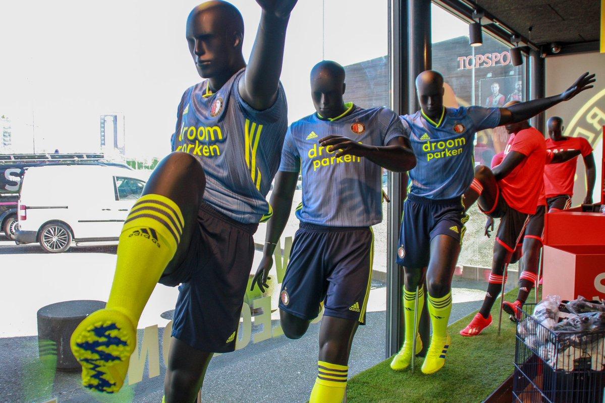 Feyenoord Rotterdam 2019 20 Adidas Away Kit Football Fashion