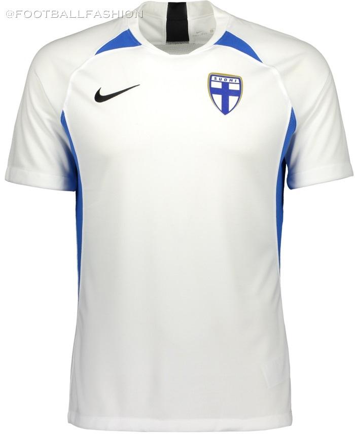 Finland 2019/20 Nike Home Kit