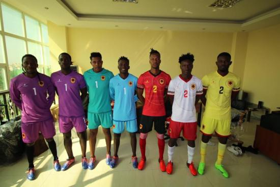 Angola 2019 Africa Cup of Nations Football Kit, Soccer Jersey, Shirt, Camisa, Camisola