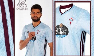 Celta de Vigo 2019 2020 adidas Home Football Kit, Soccer Jersey, Shirt, Camiseta de Futbol