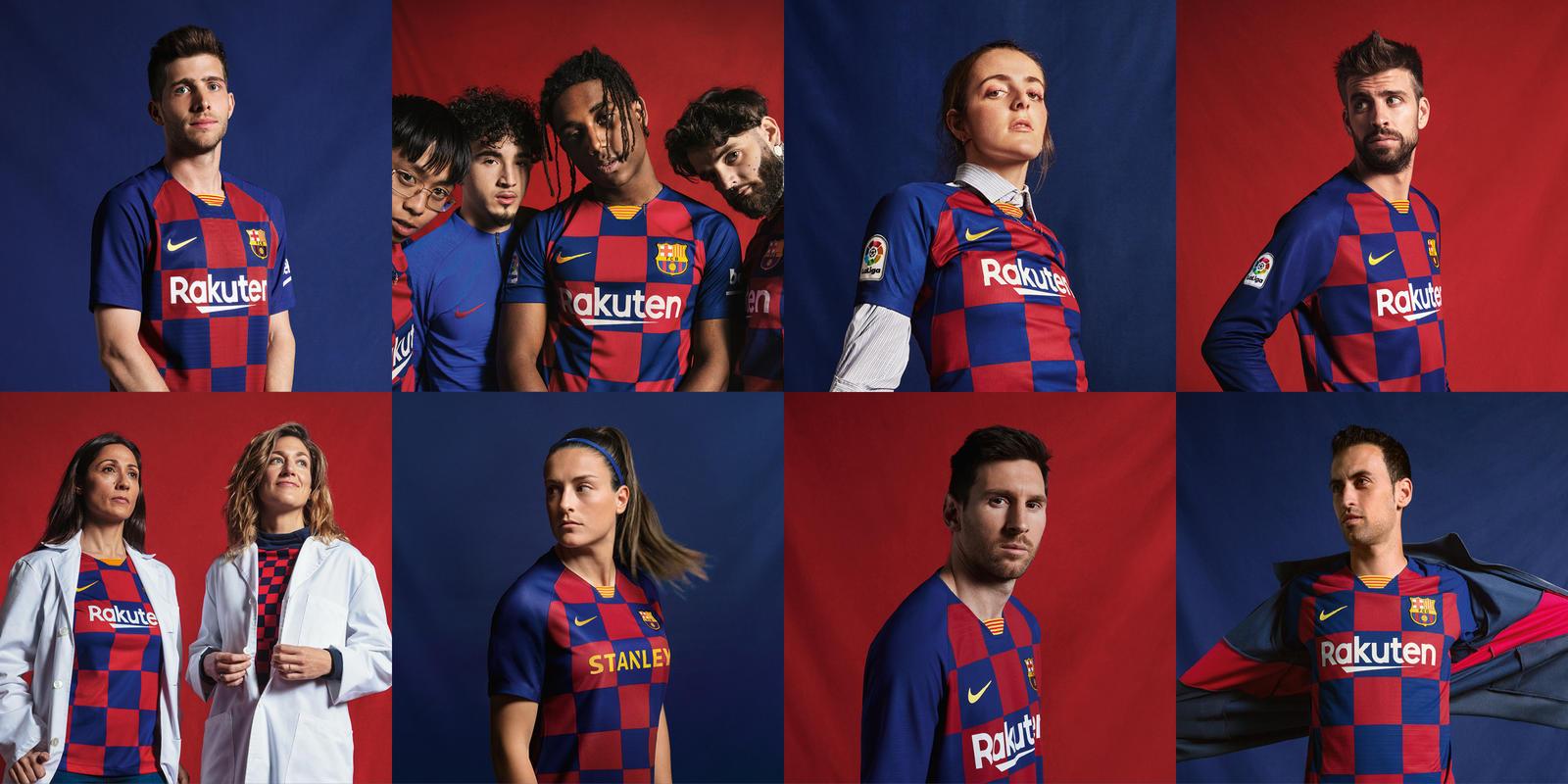 new product fa310 dc2d7 FC Barcelona 2019/20 Nike Home Kit - FOOTBALL FASHION.ORG