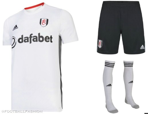 Fulham FC 2019 2020 adidas Home and Away Football Kit, Soccer Jersey, Shirt