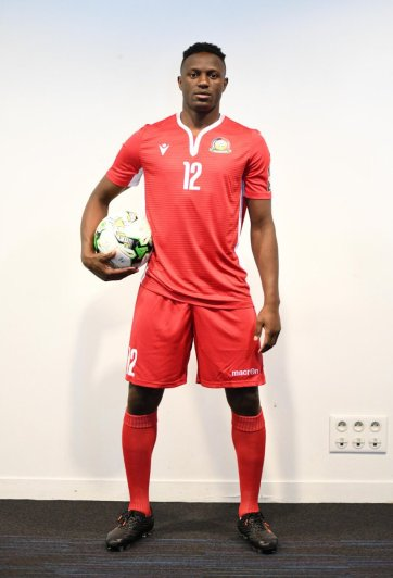 Kenya 2019 AFCON Macron Foot5ball Kit, Soccer Jersey, Shirt