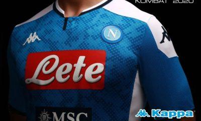 SSC Napoli 2019 2020 Kappa Home Football Kit, Soccer Jersey, Shirt. Camiseta, Camisa, Gara, Maglia