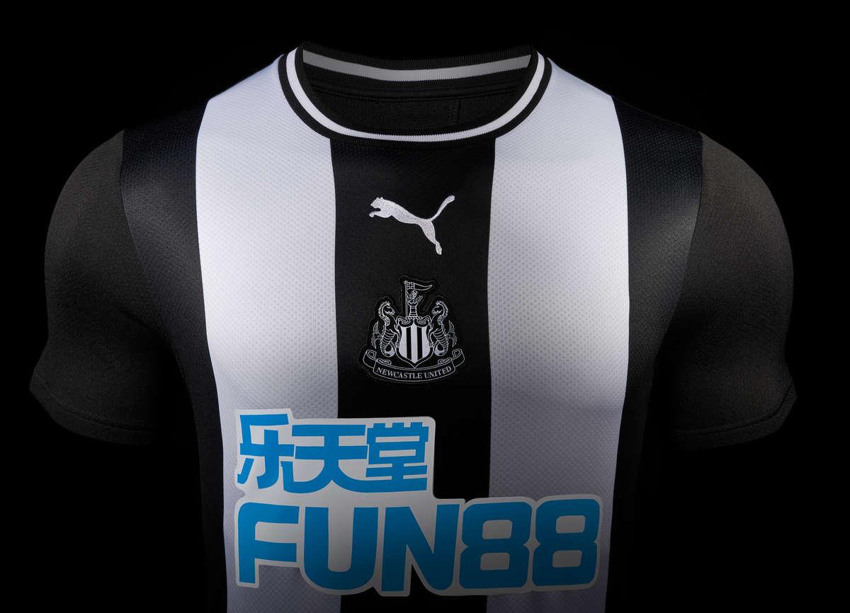 newcastle united 201920 puma home kit football fashionorg