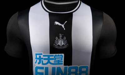 Newcastle United 2019 2020 PUMA Home Football Kit, Soccer Jersey, Shirt, Camiseta, Maillot, Camisa, Trikot