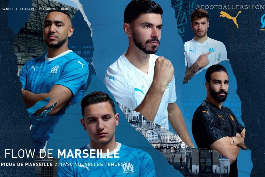 Olympique De Marseille 2019 20 Puma Away And Third Kits Football