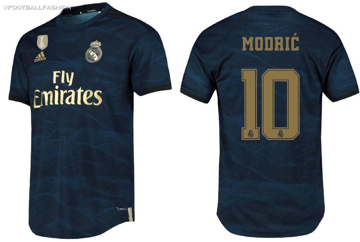wholesale dealer 68ac3 c3c51 Real Madrid 2019/20 adidas Away Kit - FOOTBALL FASHION.ORG