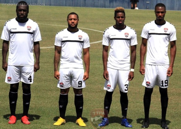 Trinidad and Tobago 2019 Gold Cup Capelli Football Kit, Soccer Jersey, Shirt