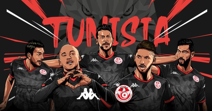 Tunisia 2019 Africa Cup of Nations Homeand Third Football Kit, Soccer Jersey, Shirt, Maillot Tunisie