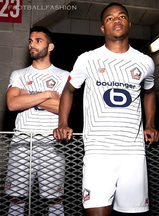 new product d0b84 5e5d9 Lille OSC 2019/20 New Balance Kits - FOOTBALL FASHION.ORG