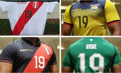 Up-Close: Peru, Ecuador and Bolivia 2019 Home & Away Kits